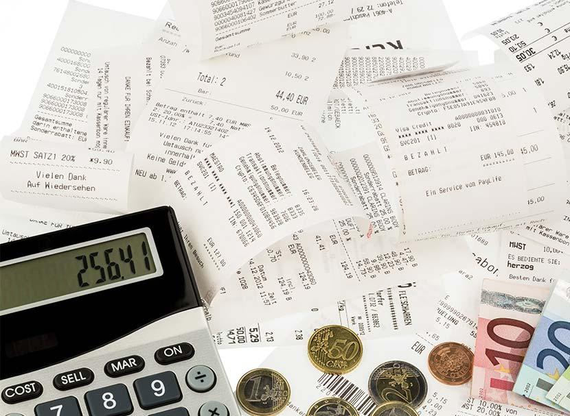 best way to organize your receipts