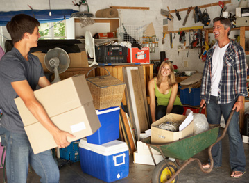 residential organization, reduce clutter in times of transition