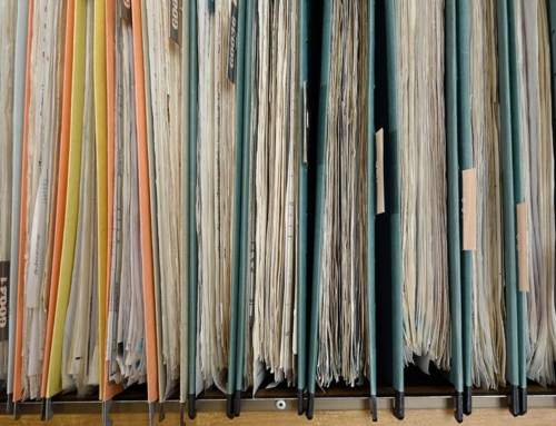 Filing Template Checklist for GO (Get Organized) Month