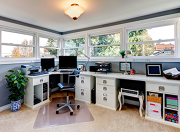 Home Office Organization Services in Atlanta